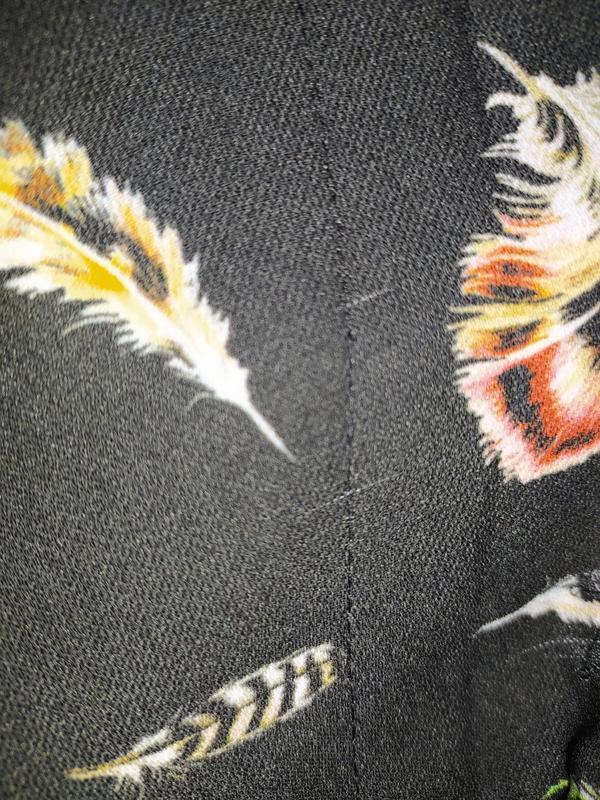 Пиджак жакет в перышки - Фото 10
