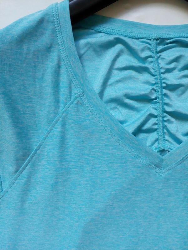 Легкая футболка для спорта m-l - Фото 4