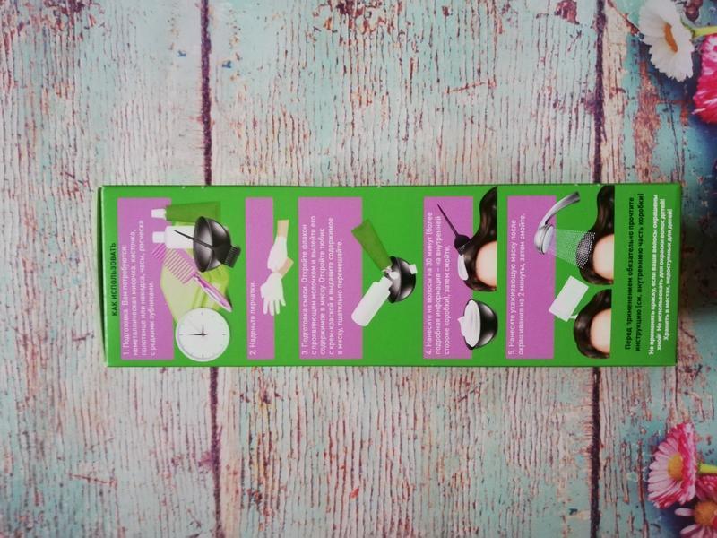 Стойкая питательная крем-краска для волос botanica, faberlic 8... - Фото 6