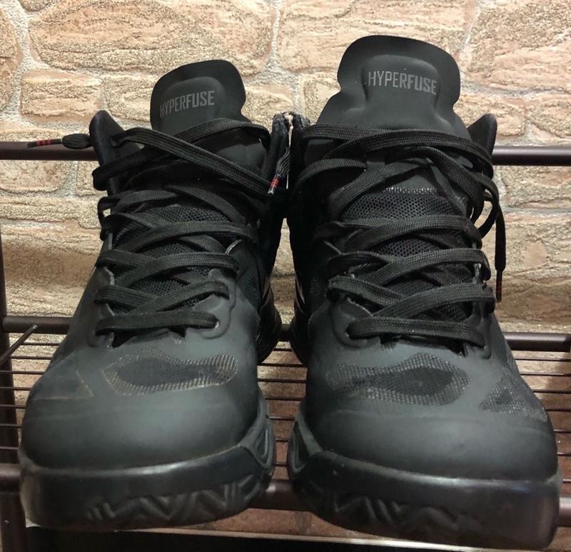 Nike hyperfuse кроссовки - Фото 3