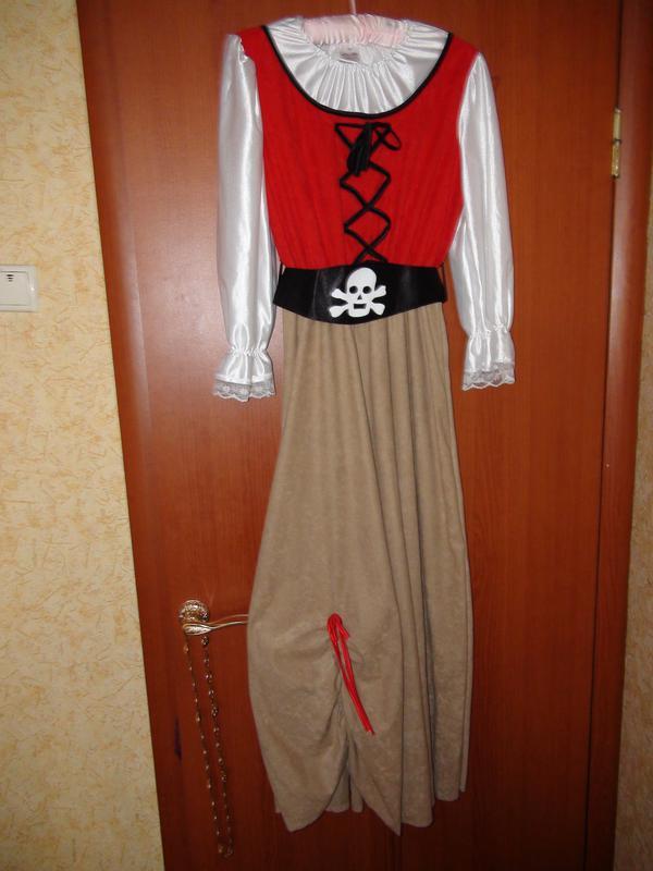 Карнавальный костюм Пиратки, Пиратши на взрослую девочку рост 164