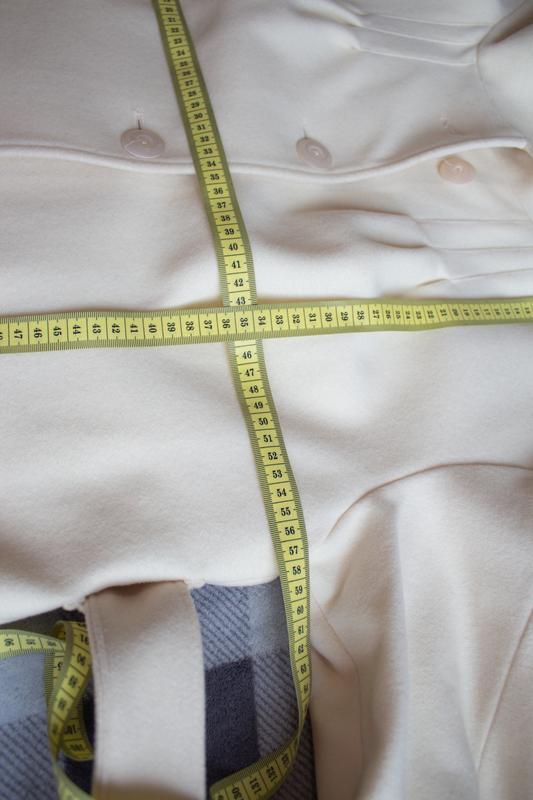 Пальто белое бежевое арбер - Фото 10