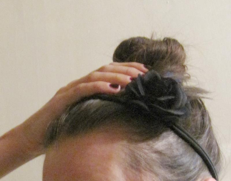 Повязка с розой на голову от h&m - Фото 2