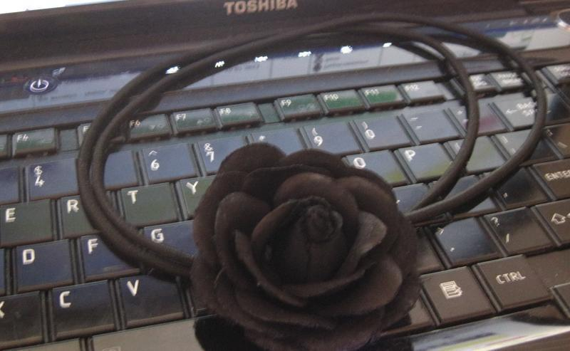 Повязка с розой на голову от h&m - Фото 3