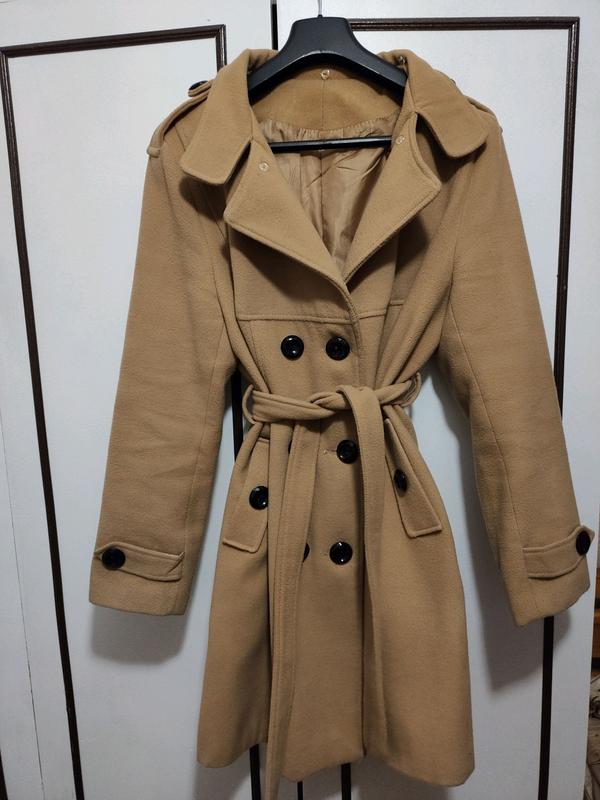 Класическое теплое пальто - Фото 3