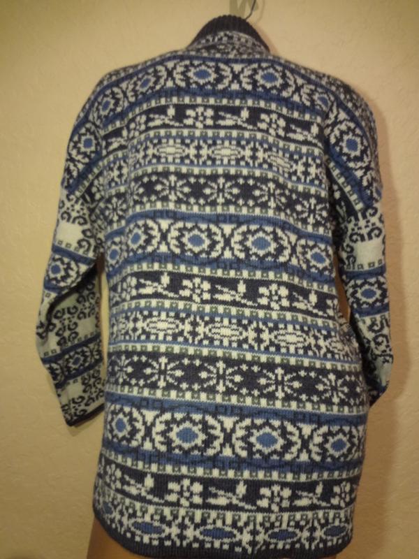 Супер теплый шерстяной свитер под шею lapagayo размер м l - Фото 3