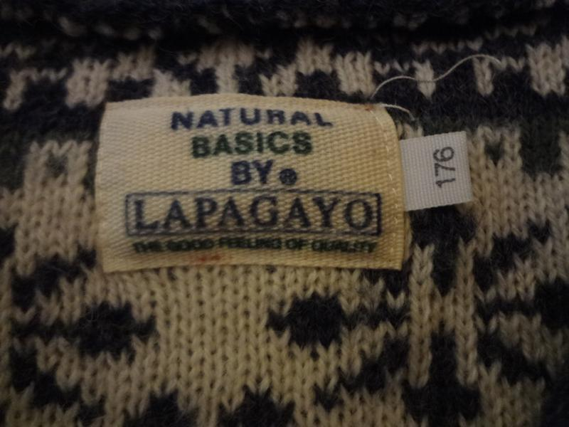 Супер теплый шерстяной свитер под шею lapagayo размер м l - Фото 7
