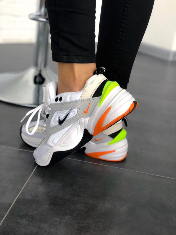 Мужские кроссовки Nike M2K Tekno Pure Platinum Black-Sail White - Фото 3