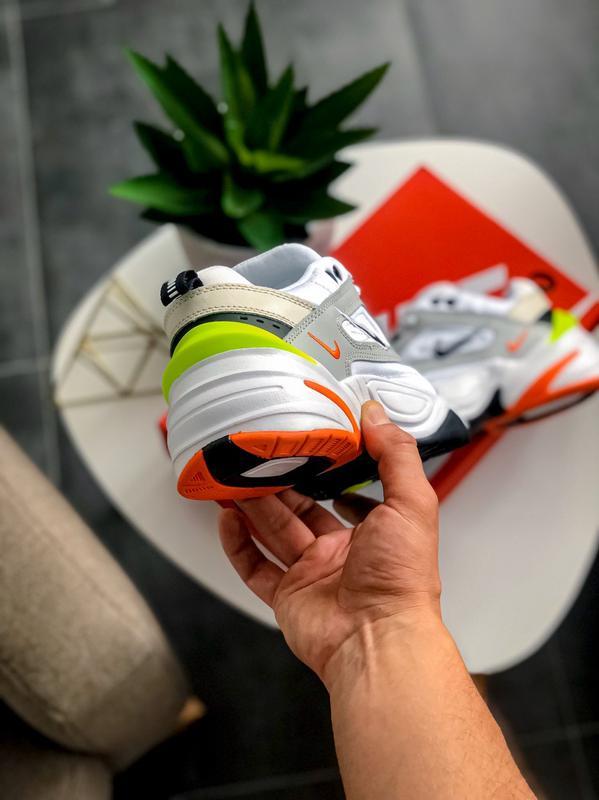 Мужские кроссовки Nike M2K Tekno Pure Platinum Black-Sail White - Фото 4