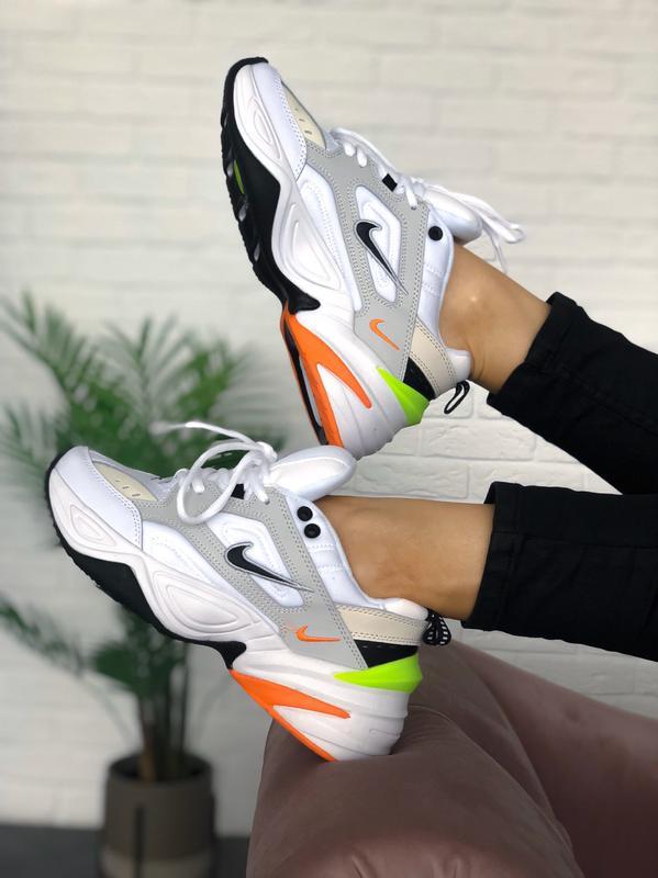 Мужские кроссовки Nike M2K Tekno Pure Platinum Black-Sail White - Фото 9