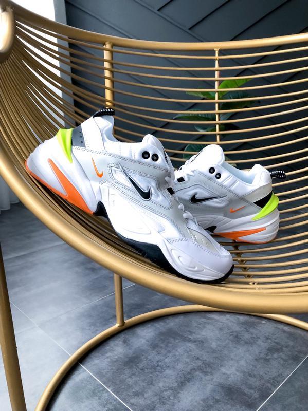 Мужские кроссовки Nike M2K Tekno Pure Platinum Black-Sail White - Фото 7