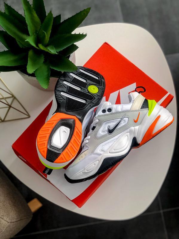 Мужские кроссовки Nike M2K Tekno Pure Platinum Black-Sail White - Фото 10