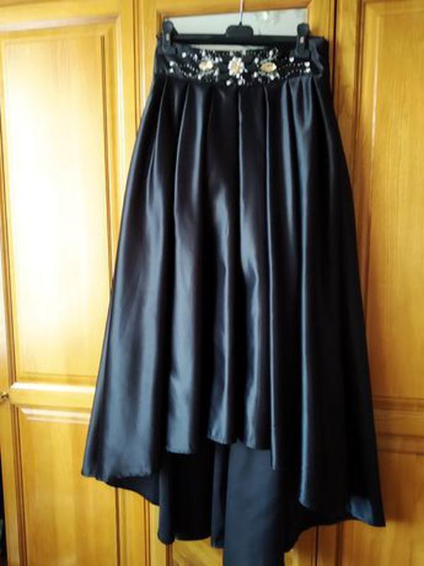 Черная юбка (платье)