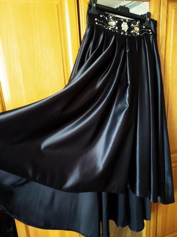 Черная юбка (платье) - Фото 2