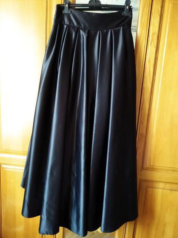 Черная юбка (платье) - Фото 3