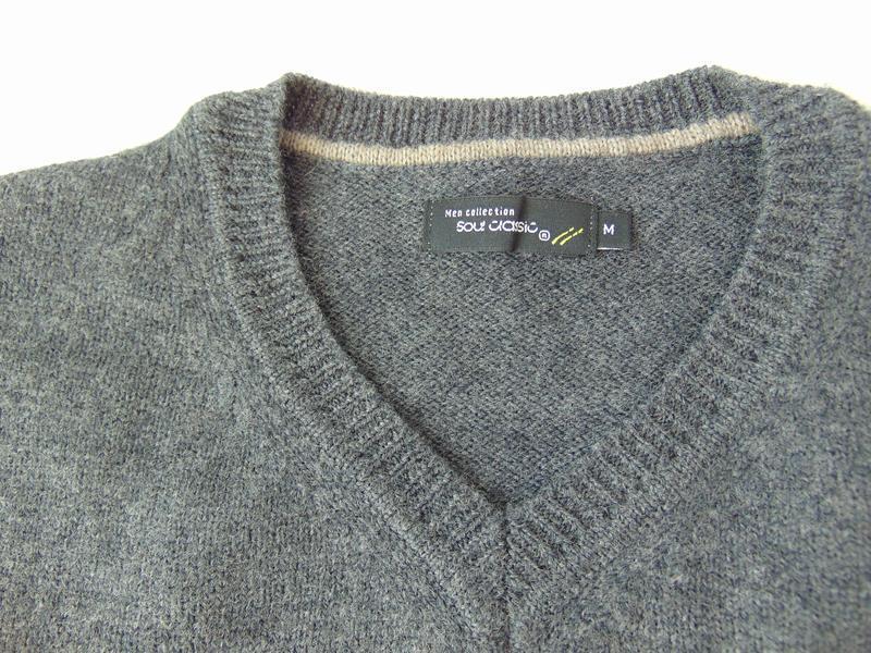 Мужской свитер soul classic м сток - Фото 4