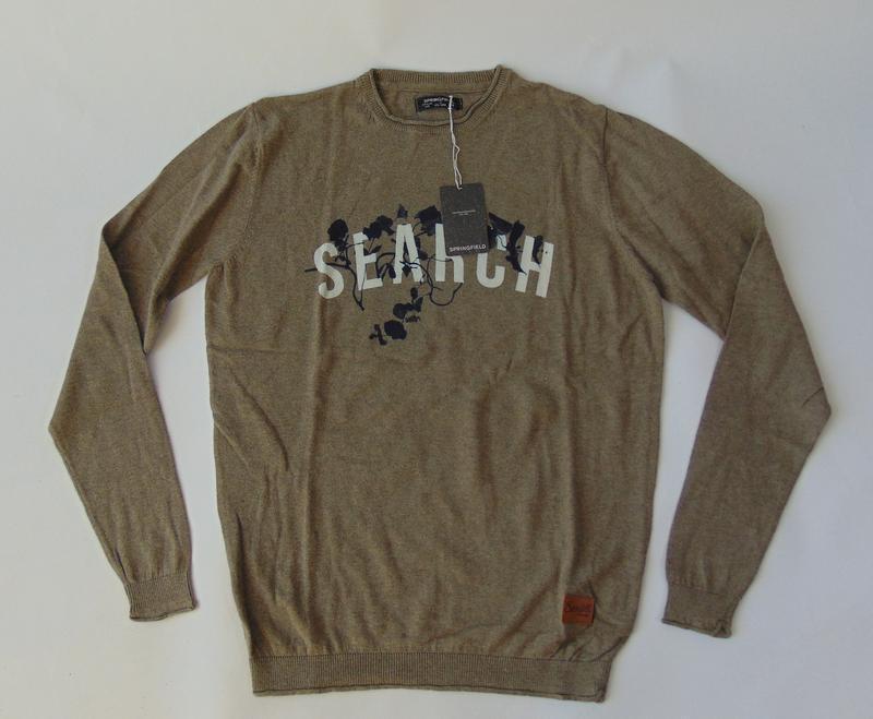 Пуловер свитер springfield испания сток - Фото 3