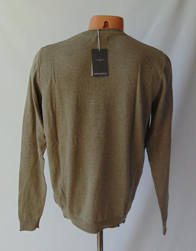 Пуловер свитер springfield испания сток - Фото 4