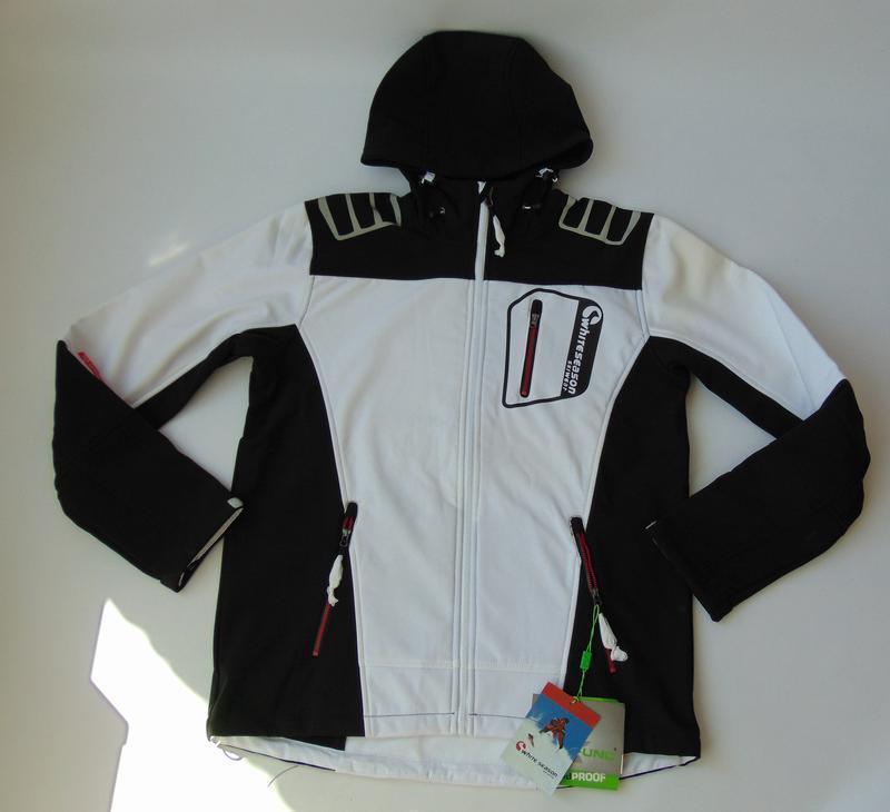 Спортивная куртка white season ski wear лыжная куртка 50 р. сток - Фото 4