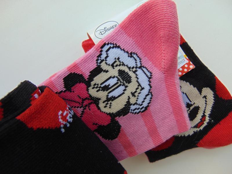 Набор носков 2 пары disney minni mouse для девочки германия 27... - Фото 3