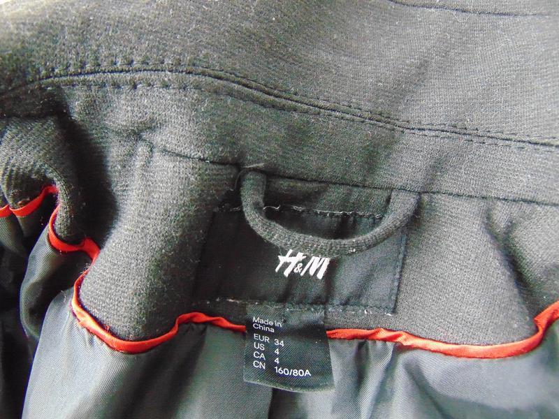 Пиджак h&m 34 р - Фото 4