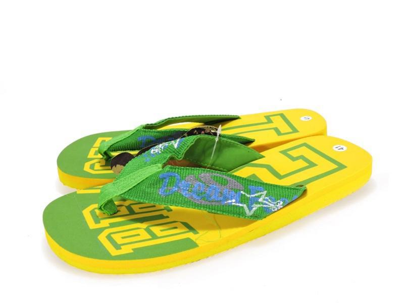 12-332 мужские пляжные вьетнамки. желтый.