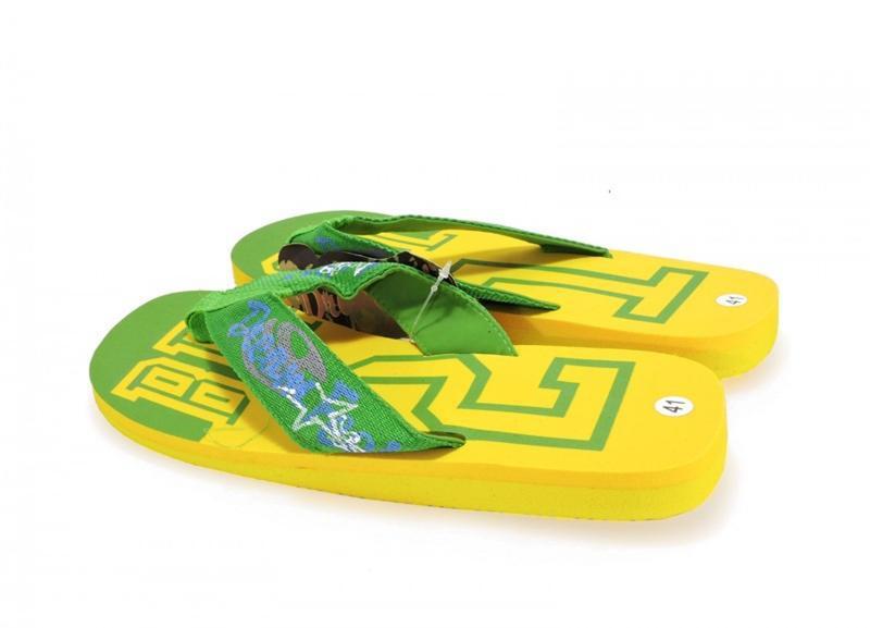 12-332 мужские пляжные вьетнамки. желтый. - Фото 2