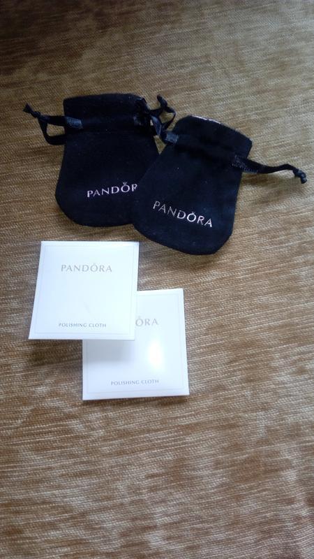 Фирменный мешочек для украшений пандора pandora