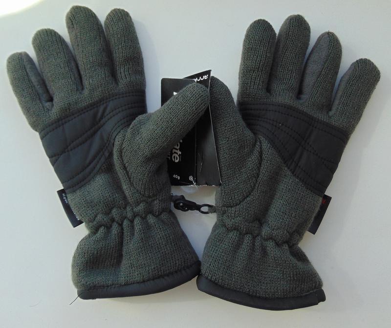 Тёплые флисовые перчатки на подкладке thinsulate ®, takko, с-м