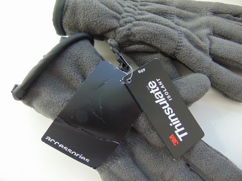 Тёплые флисовые перчатки на подкладке thinsulate ®, takko, с-м - Фото 3