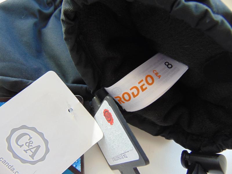 Термо варежки-перчатки немецкого бренда rodeo c&a - Фото 5