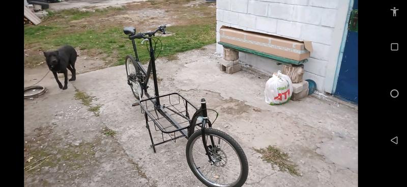 Грузовой велосипед.