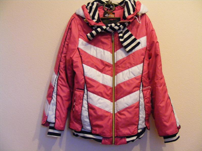 Куртка для девочки демисезонная, р.140