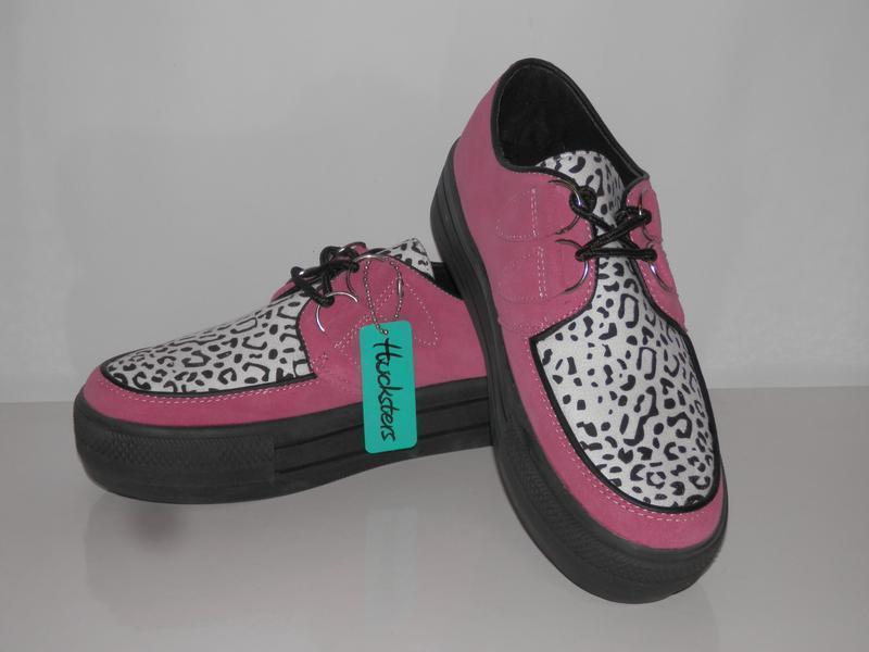 Кожаные туфли криперы на платформе creepers от hucksters
