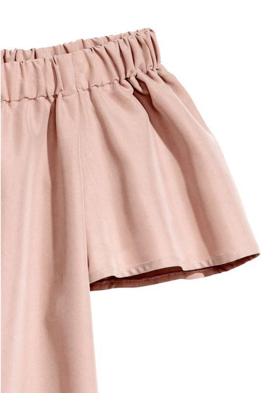 Платье с открытыми плечами h&m - Фото 3