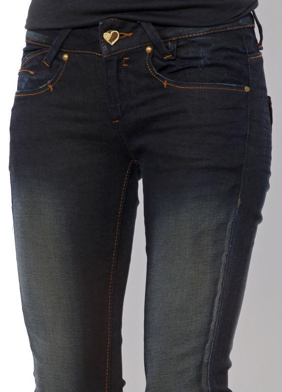 Узкие джинсы с потертостями от bershka - Фото 2