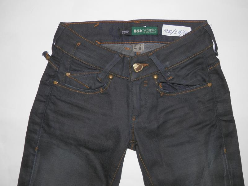 Узкие джинсы с потертостями от bershka - Фото 4