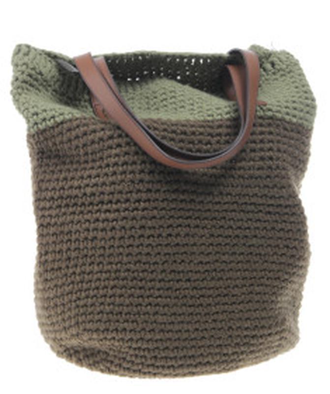 Вязанная сумка от benetton
