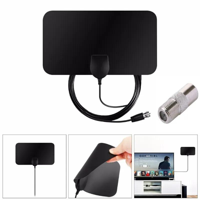Телевизионная антенна комнатная HD TV 25 дцб для цифрового DVB T2