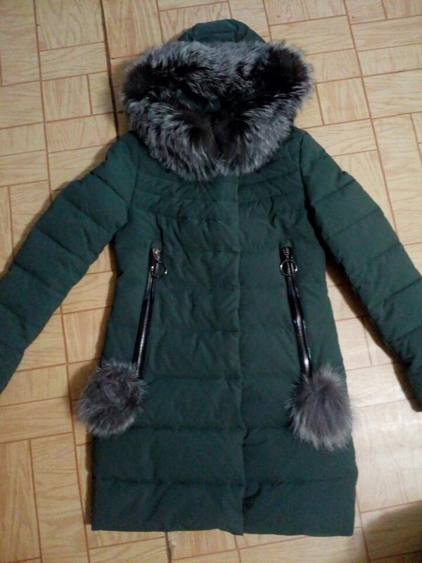 Классный теплый пуховик, зимняя куртка - Фото 4