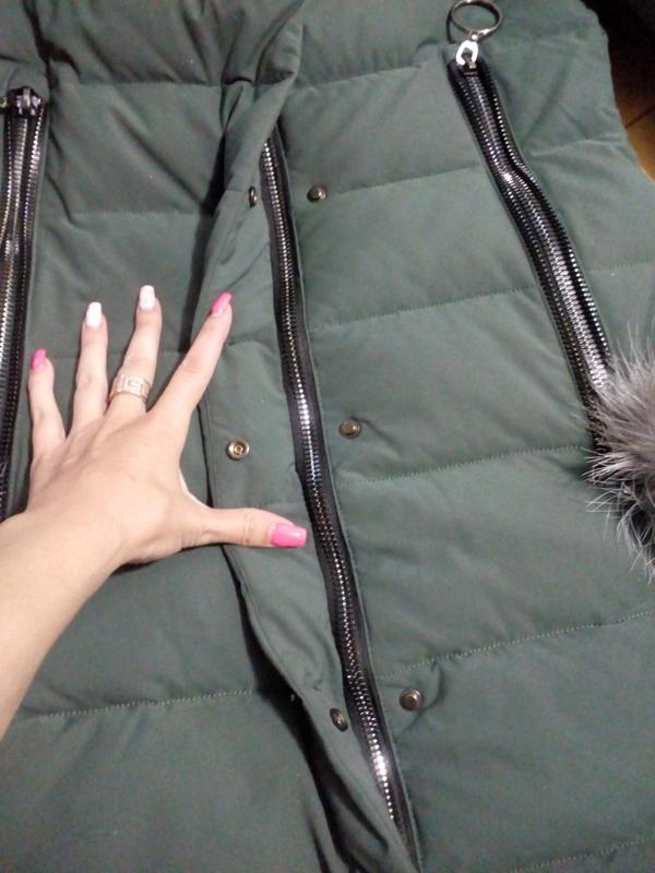 Классный теплый пуховик, зимняя куртка - Фото 7