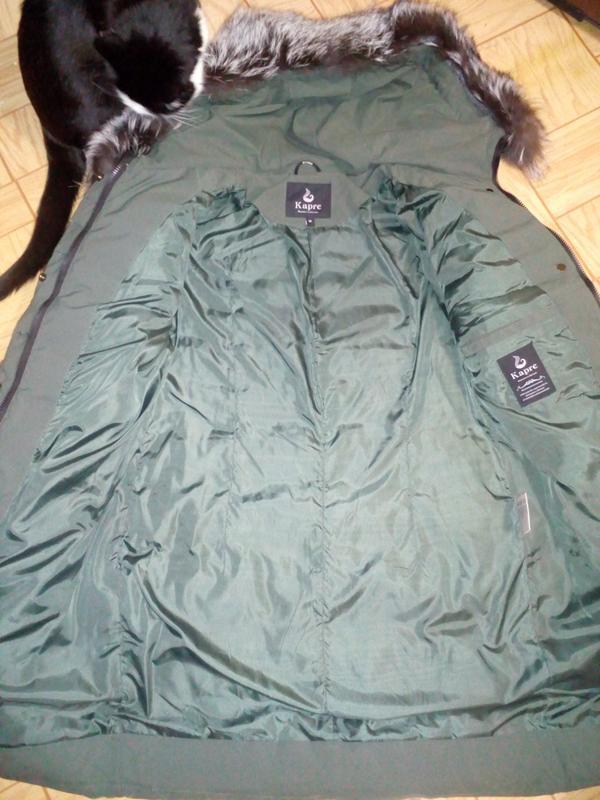 Классный теплый пуховик, зимняя куртка - Фото 8
