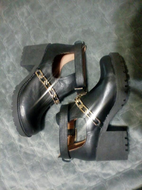 Кожаные,новые ботиночки, туфли - Фото 2