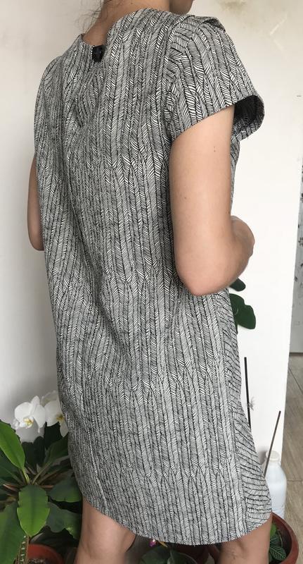 Zara платье футляр - Фото 2