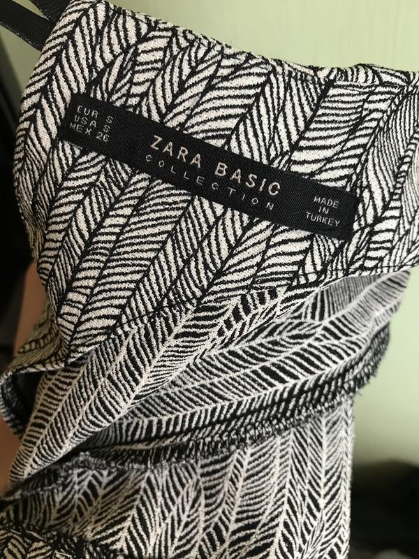 Zara платье футляр - Фото 5