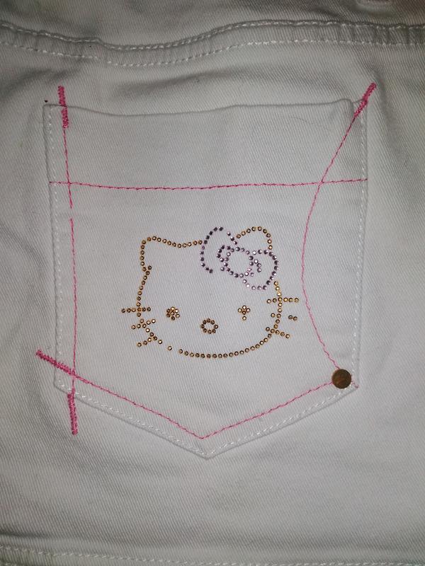 Нежнейшая белоснежная юбка  джинсовая