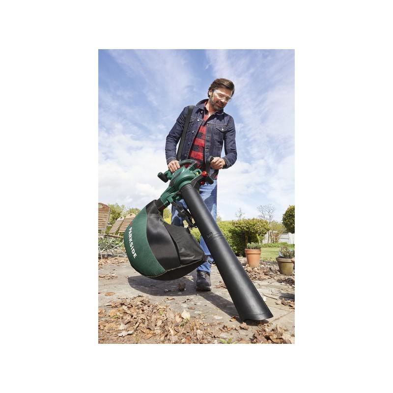 Электрический садовый пылесос Parkside 2в1 воздуходувка PLS 30...