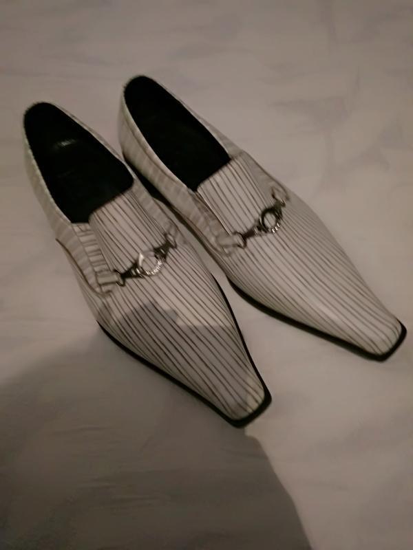 Jack dannies туфли мужские нарядные цвет слоновой кости - Фото 4