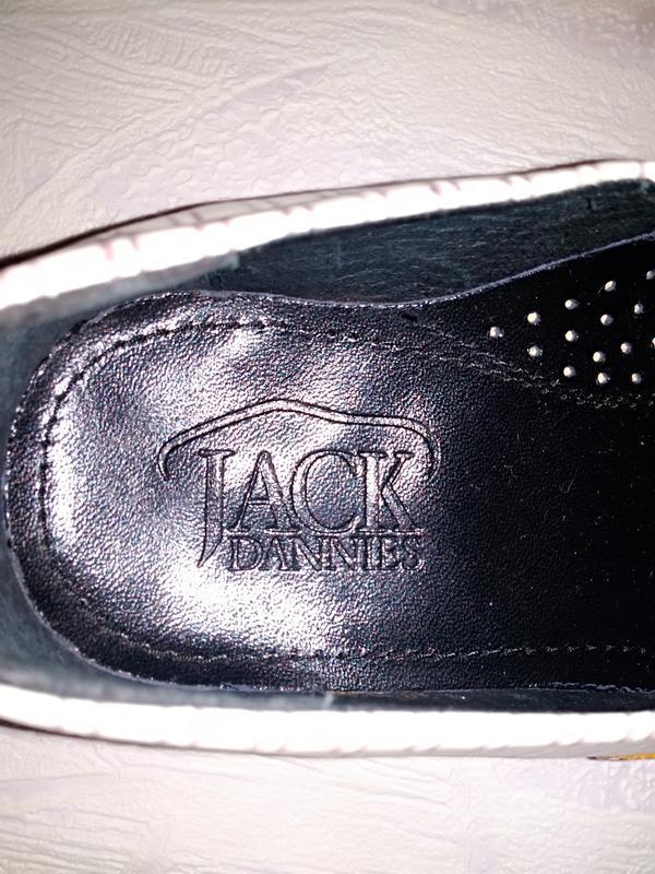 Jack dannies туфли мужские нарядные цвет слоновой кости - Фото 5