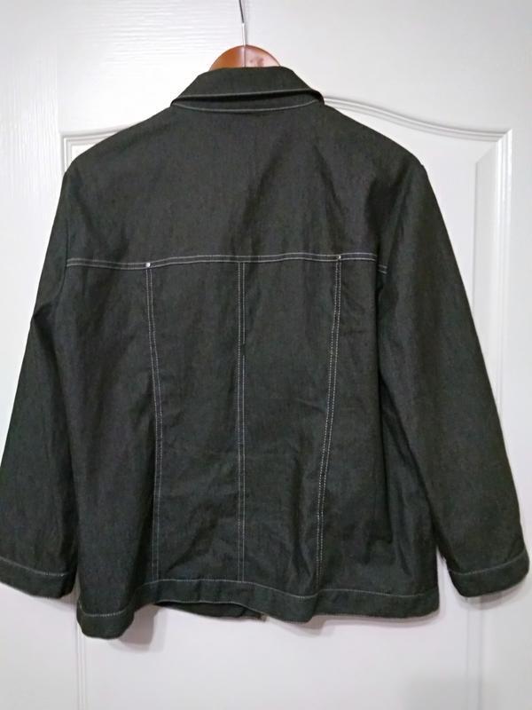 """apriori  escada group"" трендовый  пиджак, куртка джинс - Фото 2"